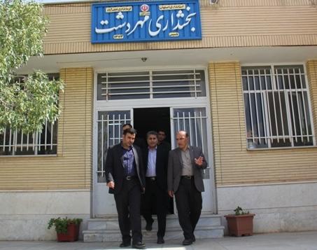 بازدید فرماندار نجف آباد از شهرهای علویجه و دهق