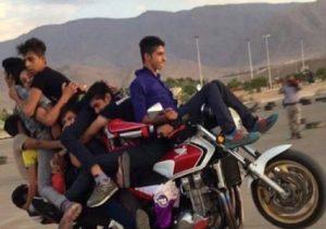 تلفات موتورسیکلت