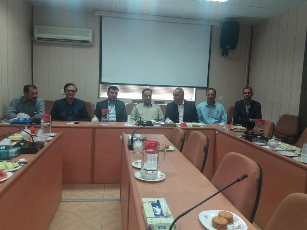 جلسه شورای اسلامی شهرستان نجف آباد