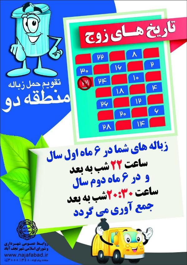 منطقه دو نجف آباد