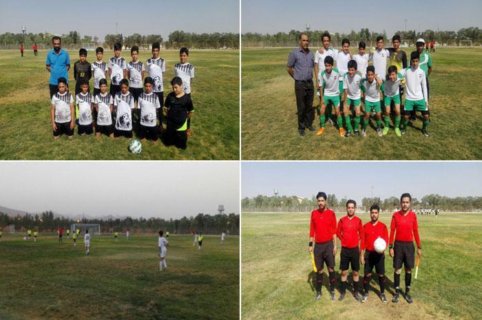 نتایج مسابقات فوتبال لیگ نونهالان و نوجوانان نجف آباد