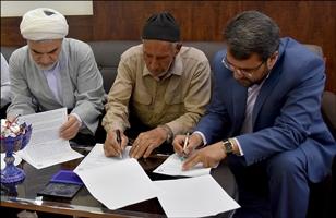 وقف زمین برای ساخت فرهنگسرا در نف آباد