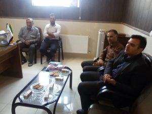 بازدید مسئولین از روستای رحمت آباد