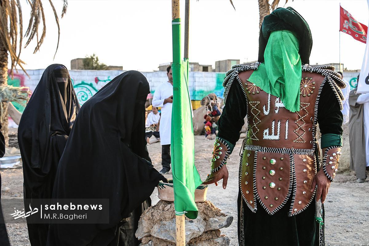 بازسازی واقعه غدیر خم در نجف آباد (۳)