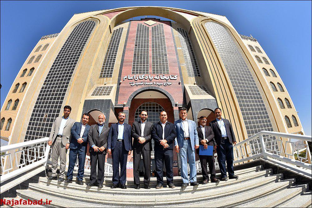 جلسه دپو اولیه قطار بین شهری نجف آباد اصفهان