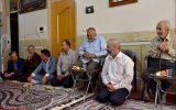 دیدار مسئولین با پدر گرامی شهید حججی + تصاویر