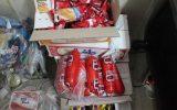 بیش از ۲ تن مواد غذایی و بهداشتی فاسد در نجف آباد معدوم شد