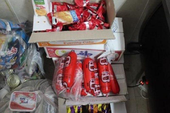 مواد غذایی و بهداشتی فاسد در نجف آباد