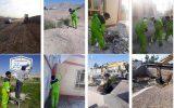 اجرای ۴۲هزار متر مربع عملیات تسطیح در منطقه سه نجف آباد