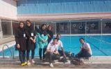 قهرمانی نجف آباد در مسابقات ملی ربات های زیردریایی + تصاویر و فیلم