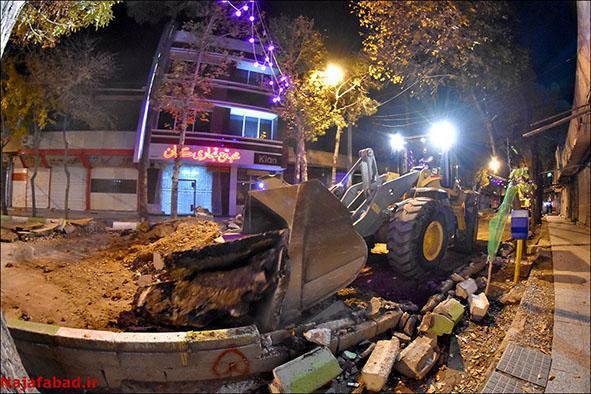 قلب بازار نجف آباد تکان خورد