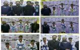 مسابقات تکواندو قهرمانی شهرستان نجف آباد برگزار شد + تصاویر