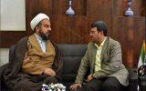 دیدار شهردار نجف آباد با امام جمعه ویلاشهر