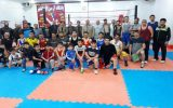بازدید از تمرینات بوکس در یزدانشهر