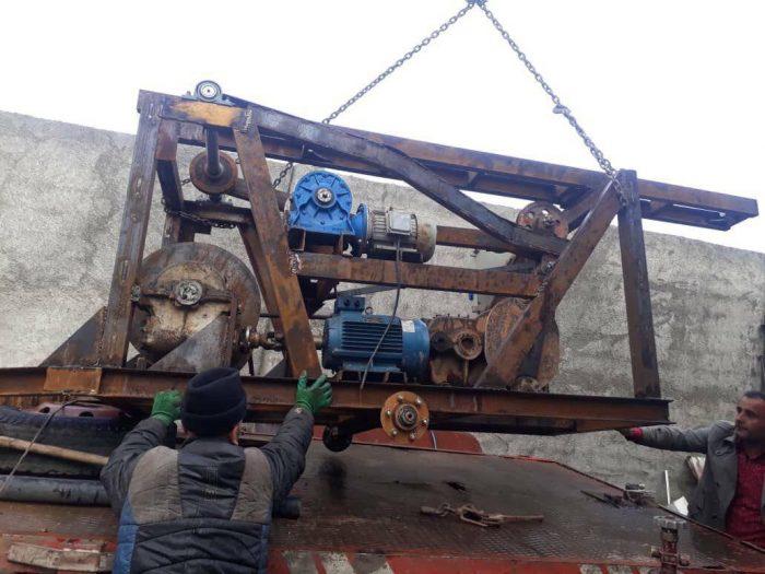توقیف دستگاههای حفاری غیرمجاز در نجف آباد