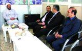 دیدار اعضای شورای شهر نجف آباد با امام جمعه ویلاشهر