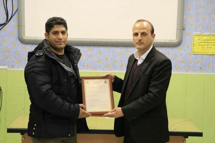 محمد جواد کاویان پی رئیس کمیته فنی کمیته خونگ چوان ( شائولین سرخ ) شد