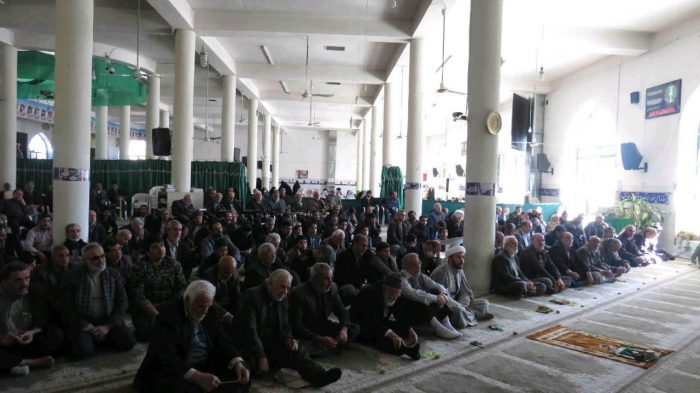 نمازجمعه ویلاشهر 14 دی ماه