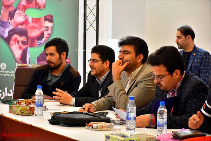 هم اندیشی جوانان با شهردار نجف آباد