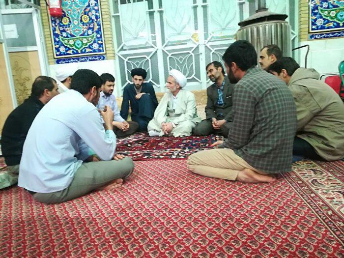 اعتکاف دانشآموزی مسجدجامع صالح آباد (۲)
