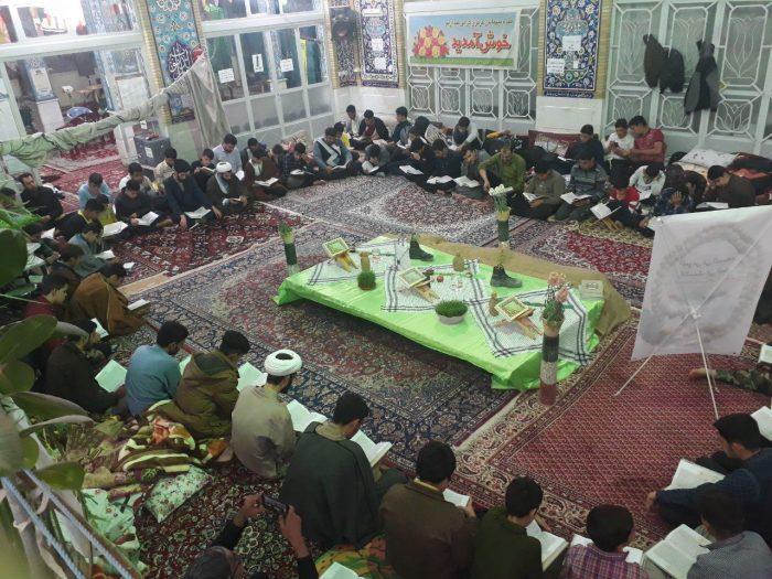 اعتکاف دانشآموزی مسجدجامع صالح آباد