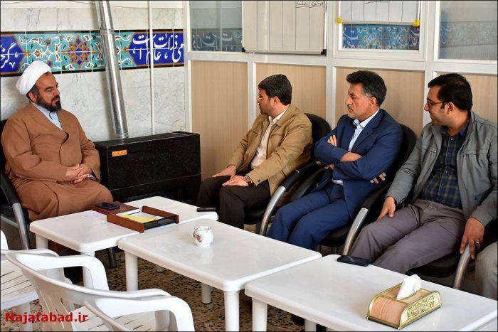 دیدار شهردار نجفآباد با امامجمعه ویلاشهر