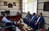 دیدار شهردار نجف آباد با ریاست اداره گاز نجف آباد