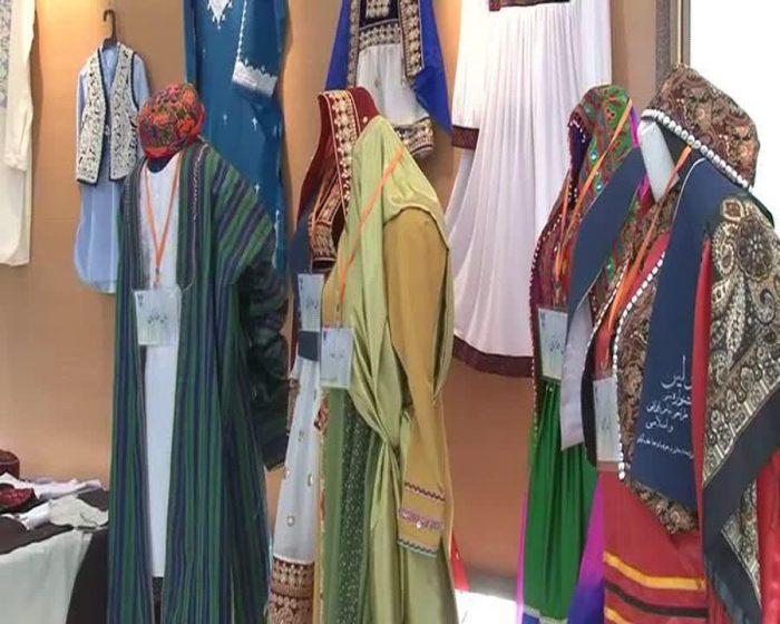نمایشگاه لباس اسلامی ایرانی در دانشگاه آزاد نجف آباد