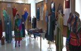 نمایشگاه لباس اسلامی ایرانی در دانشگاه آزاد اسلامی واحد نجف آباد + تصاویر