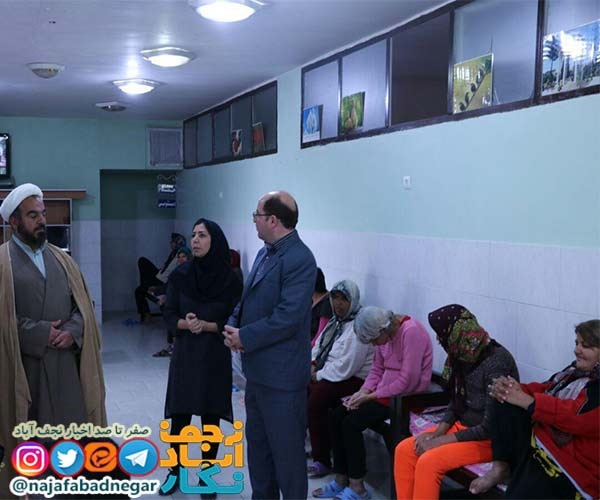امام جمعه ویلاشهر در دیدار کودکان بی سرپرست ویلاشهر