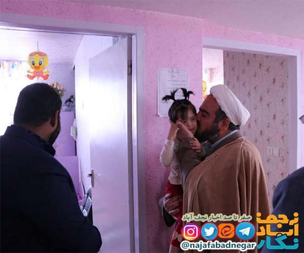 امام جمعه ویلاشهر در دیدار کودکان بی سرپرست ویلاشهر رفت