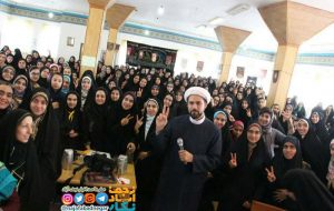 جشن بزرگ دختران آسمانی نجف آباد به مناسبت اعیاد شعبانیه