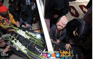 تصاویر یادمان شهدای نجف آباد و مزار شهید محسن حججی