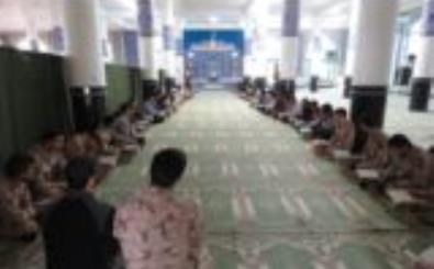 انس با قرآن در امامزاده ساره خاتون(س) نجف آباد