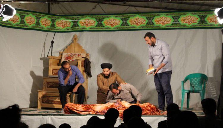 فعالیت گروه تبلیغی هنری فانوس شب در نجف آباد (۳)
