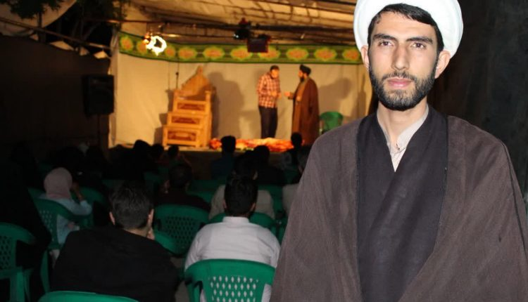 فعالیت گروه تبلیغی هنری فانوس شب در نجف آباد (۵)