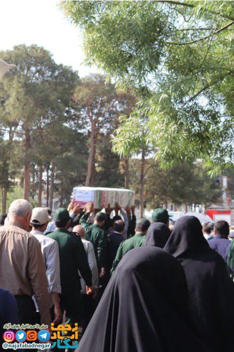 تشییع شهدا در نجف آباد