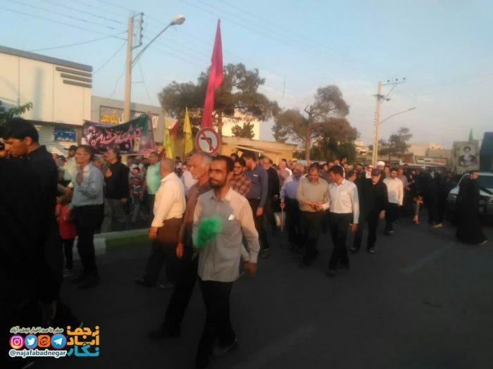 تشییع شهید حاج علی عسگری در ویلاشهر