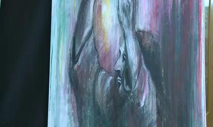 تابلو نقاشی در موضوع محرم