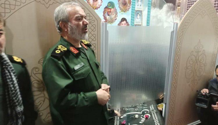سردار فدوی در نجف آباد