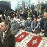 گروه سرود دبستان نیکان در مسجد ولی عصر یزدانشهر