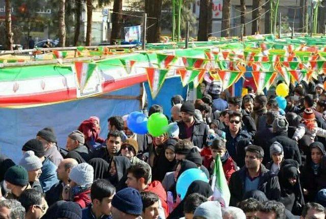 تصاویر راهپیمایی 22 بهمن نجف آباد