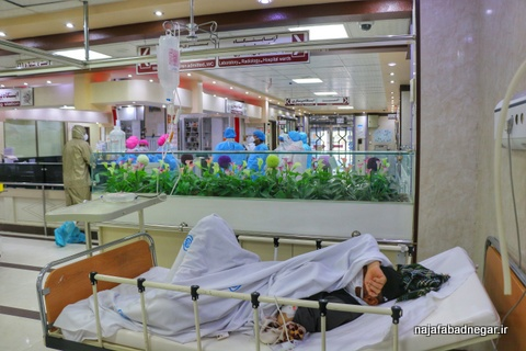 تصاویر کرونا بيمارستان فاطمه الزهرا(س) نجف آباد (۱۰)