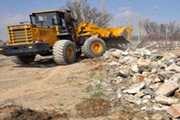 رفع تصرف اراضی ملی در نجف آباد اصفهان