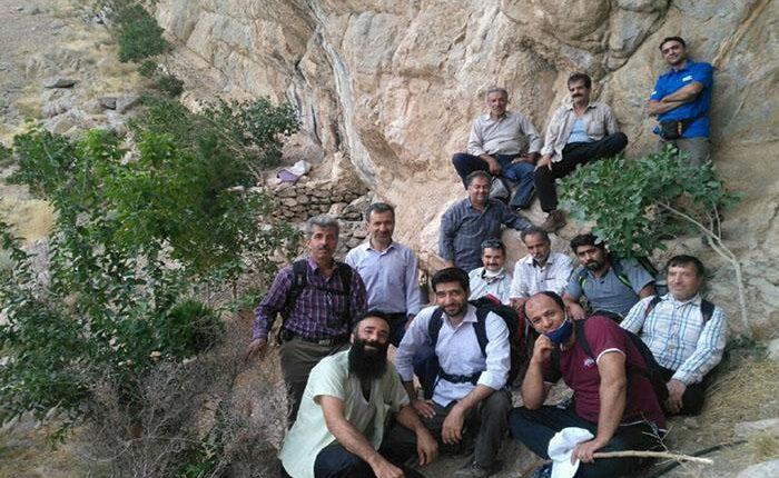کوهپیمایی باشگاه خرم نجف آباد