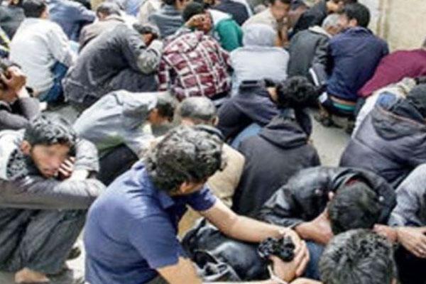 شناسایی و دستگیری ۱۵۰ معتاد متجاهر در اصفهان