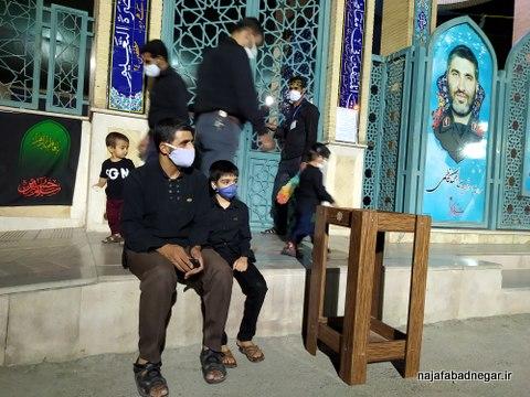 یادمان شهدای نجف آباد محرم ۹۹ (۳۹)