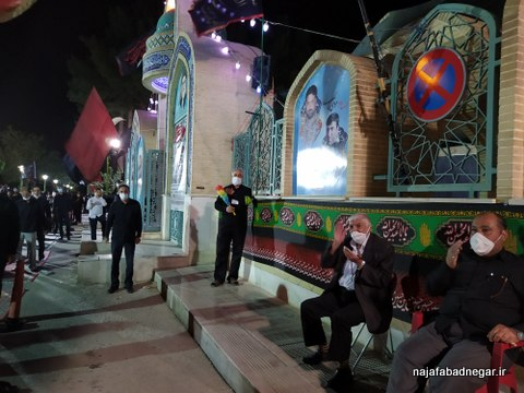 یادمان شهدای نجف آباد محرم ۹۹ (۵۰)