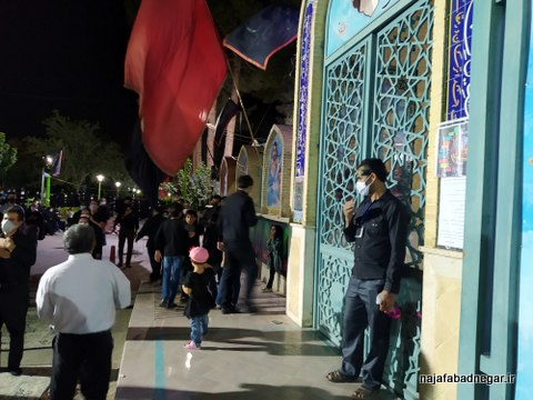 یادمان شهدای نجف آباد محرم ۹۹ (۵۳)
