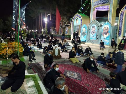 تصاویر یادمان شهدا نجف آباد محرم ۹۹